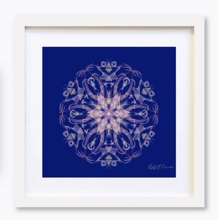 Mandala Colour Therapy Wall Art BrightNightLight WA1005