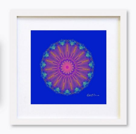 Mandala Colour Therapy Wall Art BrightNightLight WA1001