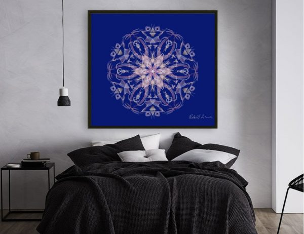 7 Chakras Mandala Colour Therapy Wall Art BrightNightLight WA1005