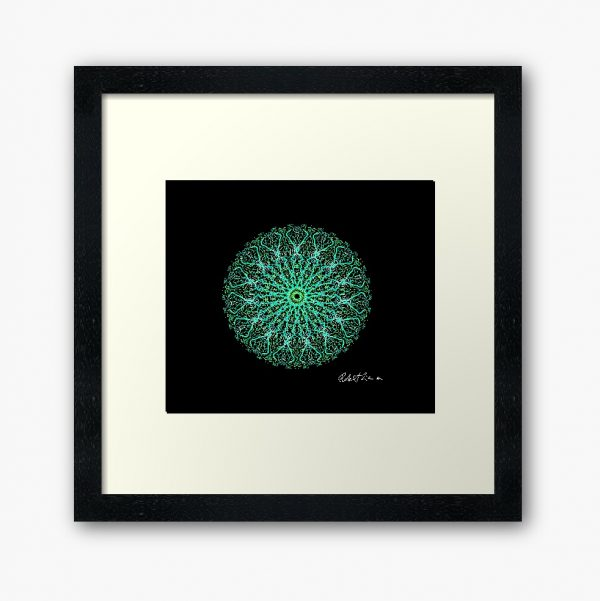 Mandala Colour Therapy Wall Art BrightNightLight WA2002