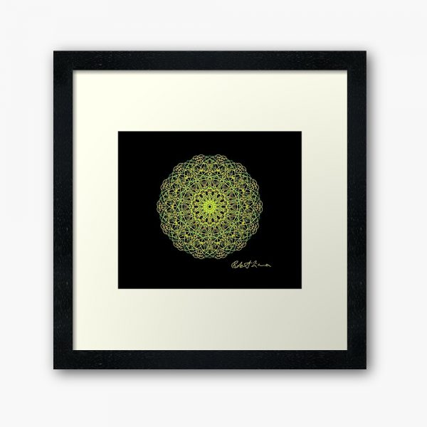 Mandala Colour Therapy Wall Art BrightNightLight WA6001