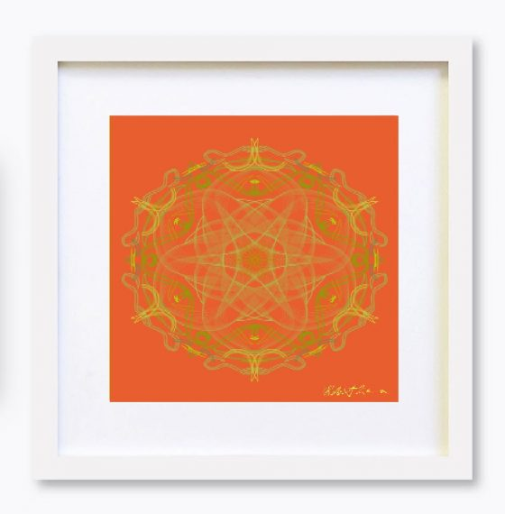 Mandala Colour Therapy Wall Art BrightNightLight WA3001