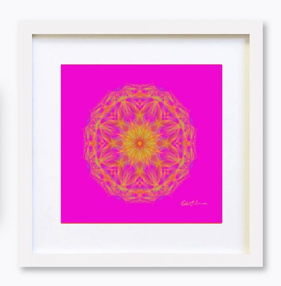 Mandala Colour Therapy Wall Art BrightNightLight WA4001