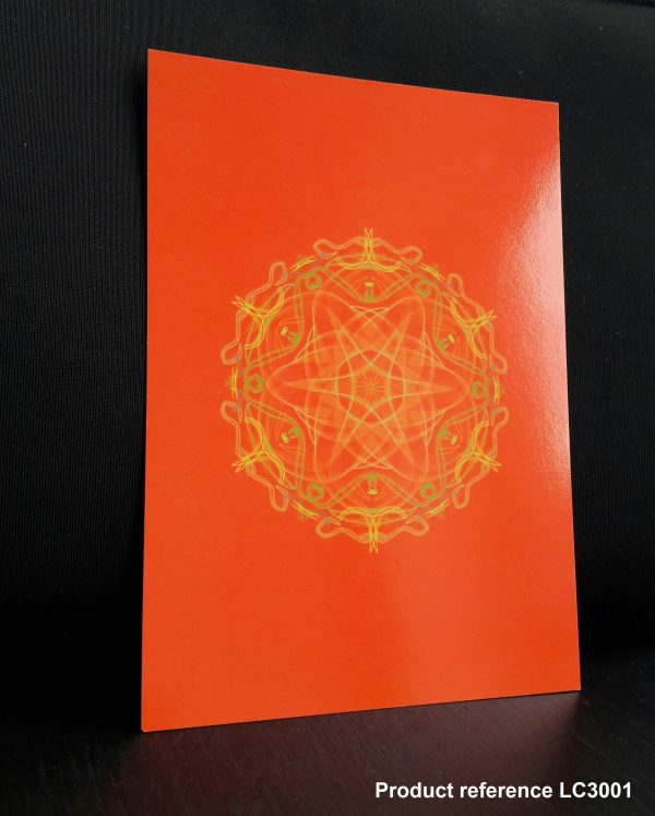 Orange Chakra Healing Greeting Card LC3001