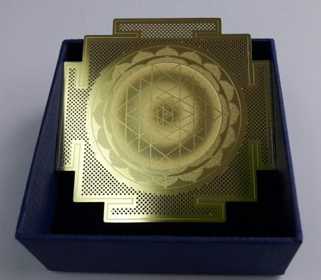 Sri Yantra Golden Card
