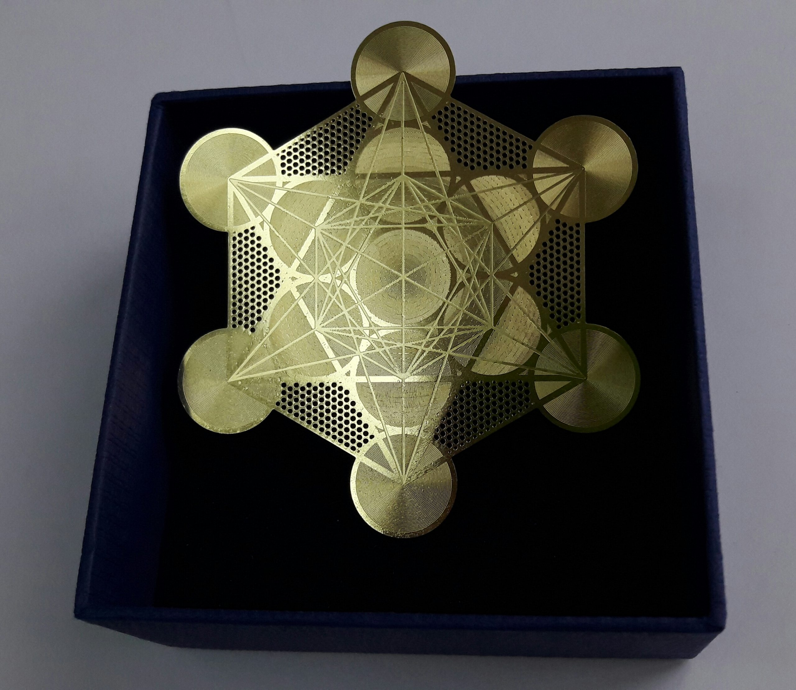 Metatron Cube Card