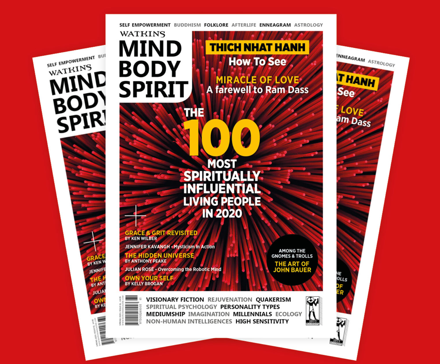 BrightNightLight in MIND BODY SPIRIT magazine